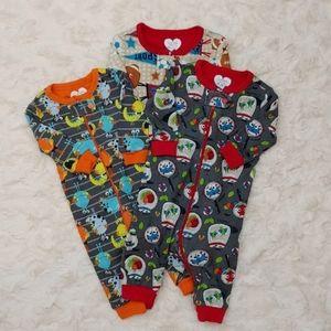 Children's Place Pajama Bundle Size 0-3 Mths